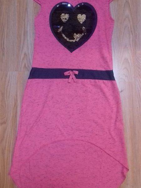 Nyári hosszú pamut ruha flitterekkel rózsaszín – Rongyos Rozi – Új ... 4e6e2f8a4c