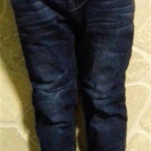 Vékonyan bélelt kényelmes fiú farmer nadrág télire iskolába
