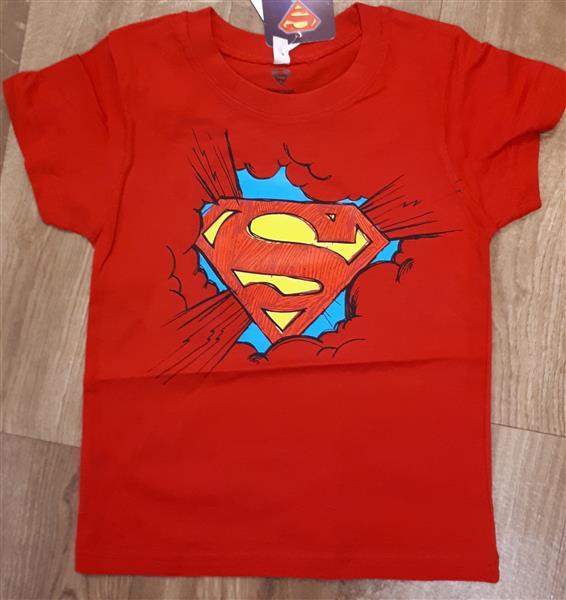 6ea5bd21ae Pamut rövid ujjú fiú póló Superman mintával – Rongyos Rozi – Új ...