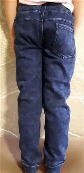 af3bd33f45 Vastag meleg téli kényelmes vagány fiú nadrág körbe gumis derékkal ...