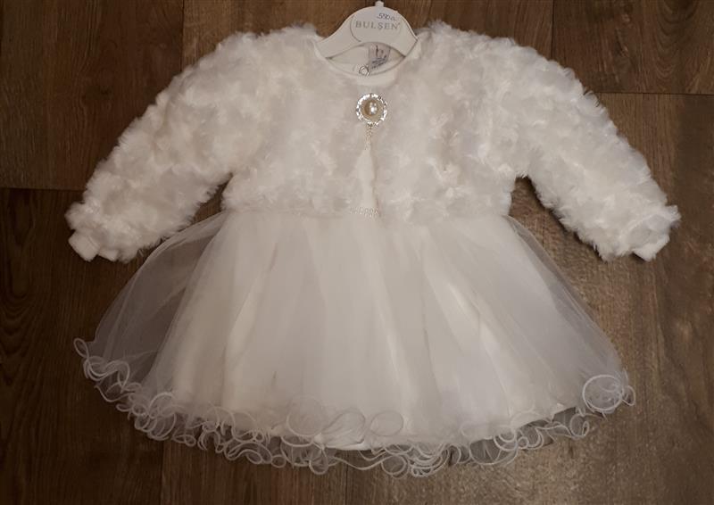 753a80b3df Alkalmi ruha boleróval keresztelő esküvő karácsony fotózásra kislányoknak