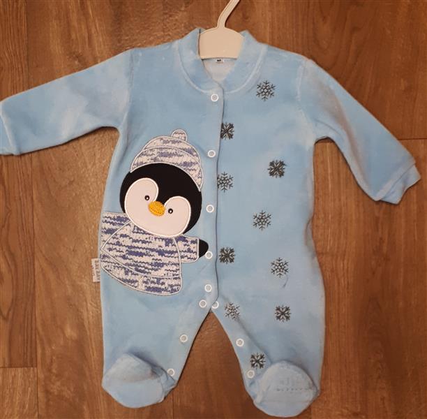 0fefb8ac5a Baba plüss rugdalódzó pingvin mintával – Rongyos Rozi – Új Babaruha ...