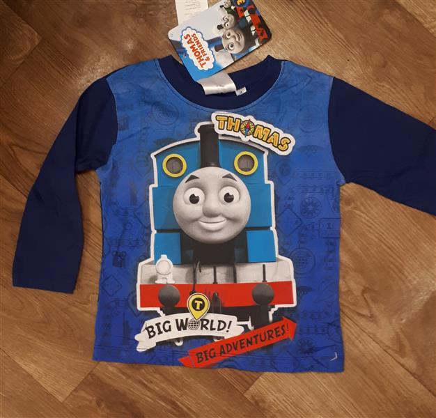 Pamut hosszú ujjú póló fiúknak Thomas mintával – Rongyos Rozi – Új ... 1a8f9f3937
